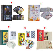 Spanish/English Edition Rider Smith Waite Witches Tarot Deck Divination Card Set