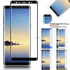 For Samsung Galaxy Note 9/S8/S9+ Plus Full Cover Tempered Glass Screen Protector