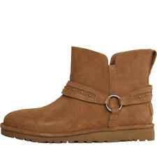 UGG Womens Ailiyah Ankle Boots Chestnut