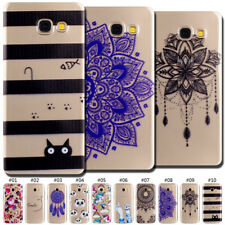 For Samsung Clear Rubber Cute Back Skin Silicone Protective TPU Soft Case Cover