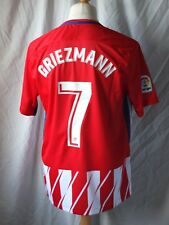 Brand New Genuine Atletico Madrid 2017/18 Home Shirt GRIEZMANN 7  Adults Large