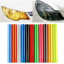 Car Auto Fog Light Headlight Sticker Taillight Tint Vinyl Film Decal Sheet