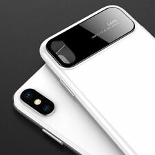 Luxury Glass Lens Hybrid Armor Ultra Slim Phone Case Cover For iPhone XS MAX XR