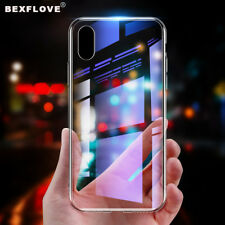 Ultra HD Crystal Clear Transparent Silicon Slim Phone Case For XR XS MAX X 8 7 6