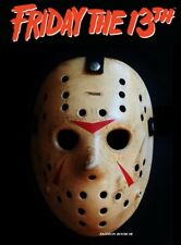Friday The 13th Prop Replica Jason Voorhees Mask Halloween Horror Realistic New
