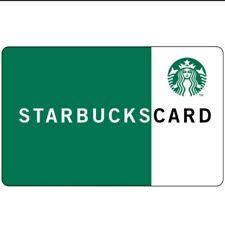 Starbucks Special Editions - Recycled Paper Gift Cards - PIN INTACT