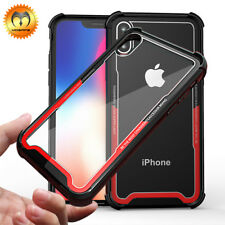 For iPhone XS Max XR X 7 8 Plus Shockproof Mosafe® Clear TPU Bumper Case Cover