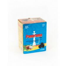 PANORAMA COCONUT CHARCOAL CUBES. FOR SHISHA HOOKAH BBQ COAL. AL FAKHER STARBUZZ
