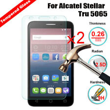 2X Premium Genuine Tempered Glass Screen Protector Film For Alcatel Cell Phones