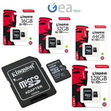 Kingston Microsd Classe 10 Originale Memoria da 16 32 64 128 gb micro sd 80mb/s