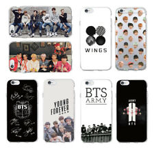 BTS Phone Case for iPhone 5 6S 7 8 Plus X Xs Max Samsung Galaxy A J S Series