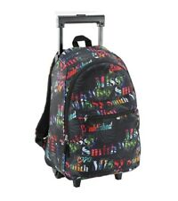 JOHN SMITH Mochila con carrito John Smith estampada  M17218 NEGRO