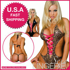 US Sexy-Lingerie-Sleepwear-Women-G-string-Robe-Lace-Underwear-Babydoll-Nightwear