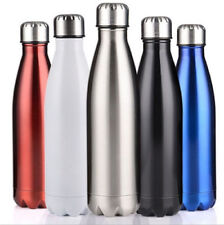 350/500/750/1000ML Stainless Steel Vacuum Thermos Flask Insulated Water Bottle