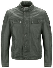Belstaff Glen Vine Mens Jacket in Burnished Green in 2XL and 3XL, new with tags