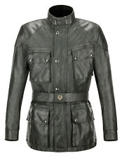 Belstaff TT Zero Mens Jacket in Dark Green size S and M, new with tags