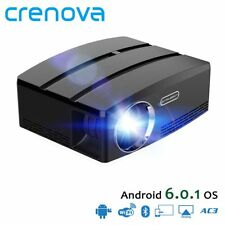 CRENOVA High Quality Android Projector For Full HD 1080p With Android 6.1 OS