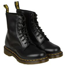 DR MARTENS 1460 8 EYELET BLACK OR CHERRY RED SMOOTH BOOT