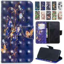 For iPhone X XS Max XR 6 7 8 Plus 3D Magnetic PU Leather Wallet Stand Case Cover