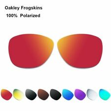 Polarized Replacement Lenses for-Oakley Frogskins Sunglasses Waterproof Anti-UV