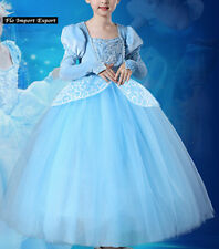 Cenicienta Disfraz De Carnaval Dress up Cinderella Cosplay Traje Vestido 567031