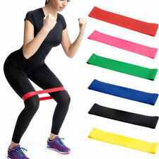 Training Stretch Rubber Belt Elastic Fitness Yoga Gym Band Resistance Exercise