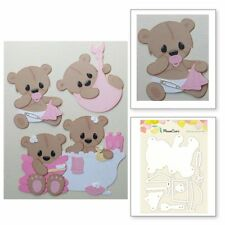 Metal Baby bear Cutting Dies Craft Dies For DIY Scrapbooking Paper Card Craft