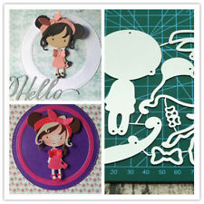 Metal Fashion girl Cutting Dies Craft Dies For DIY Scrapbooking Paper Card Craft