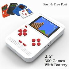 2.6'' LCD Retro Gaming Console 8 bit FC Pocket handheld player 300 Games