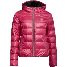 Converse Womens Core Padded Down Hooded Jacket Cosmos Pink XS