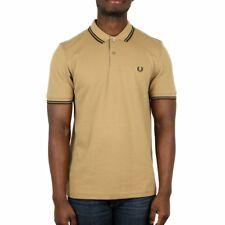 Fred Perry Twin Tipped Polo Shirt - Khaki