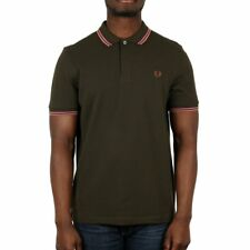 Fred Perry Twin Tipped Polo Shirt - Hunting Green