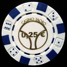CASINO TAORO ROULETTE & POKER CHIPS  Coleccionismo (Elíge variantes) 1.10
