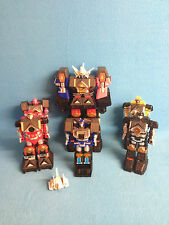POWER RANGERS MMPR MIGHTY MORPHIN DX SHOGUN MEGAZORD PARTS COLLECTION
