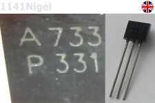 2SA733  A733 PNP TO92 TO-92 General Purpose Transistor Amplifier (Pack of 5-20)