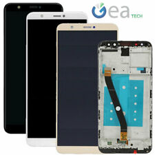 TOUCH SCREEN VETRO LCD DISPLAY + FRAME ASSEMBLATO PER HUAWEI P-SMART FIG-LX1