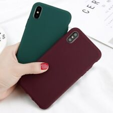 Luxury Ultra Slim Matte Soft TPU Phone Case Cover For iPhone XS MAX XR X 8 7 6 5