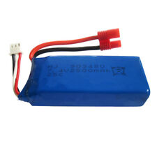 BATERÍA LiPo 7.4V 2500mAh 25C Drone RC Quadcopter Conector JST-2Pin XH-2.5mm RC