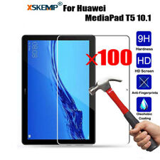 Wholesale 100Pcs Tempered Glass Screen Protector Film For Huawei MediaPad Tablet