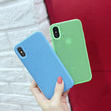 Candy Color Slim Heat Dissipation Soft Phone Case For iPhone XR XS MAX X 8 7 6