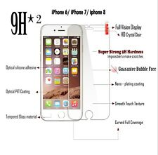 Genuine Full Coverage Clear Tempered Glass Screen Protector For IPhone 6/7/8