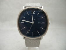 SALE: Authentic Skagen Rungsted SKW6380 Blue Mesh Bracelet Men's Watch