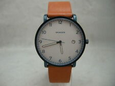 SALE: Authentic Skagen SKW6325 Hagen Genuine Leather Light Brown Men's Watch