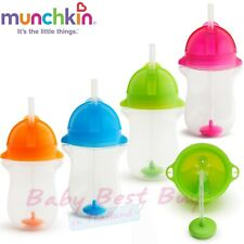 Munchkin Click Lock Any Angle 2 Piece Weighted Straw Cup CHEAP!!!