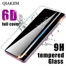 6D Curved Screen Protector Tempered Glass Anti Scratch Phone Cover For Samsung