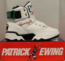 Mens Patrick Ewing Athletics 33 HI White Jamaica Basketball Shoes 1EW90014-112