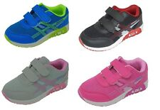 Children's Kids Boys Girls Sports Running Trainers Gym Shoes Casual Size 6-1
