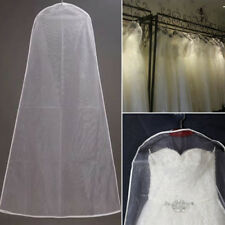 Clear Dust-proof Cloth Cover Suit Dress Ball Gown Garment Bag Storage Protector