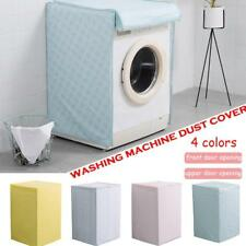 Waterproof Anti-dust Zippered Washing Machine Cover Protection Top / Front Cover