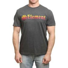 Element Horizontal Camiseta Gris Carbón Element Ropa para Hombre Camisetas